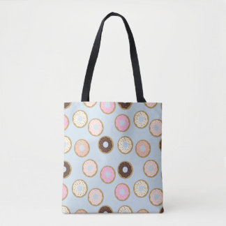 Donut Pattern Tote