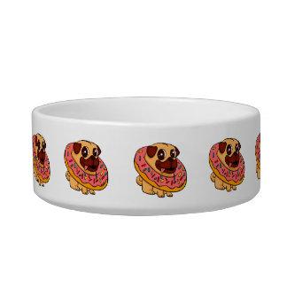Donut pug bowl