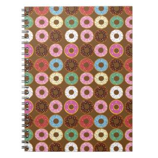Donut Round Notebooks