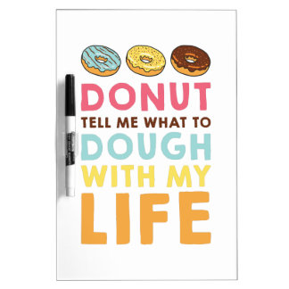 Donut Tell Me Dry Erase Boards