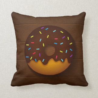 donut throw pillow