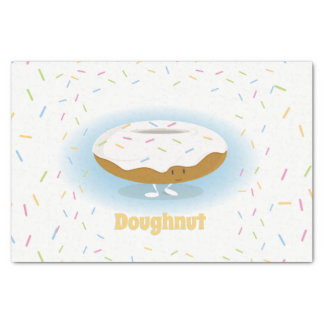 Donut with Sprinkles | Tissue Paper