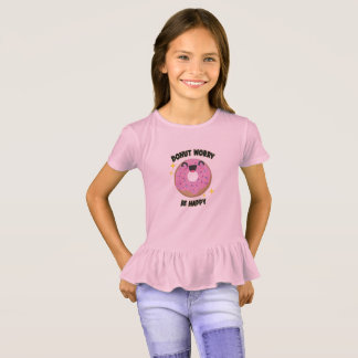 Donut Worry Be Happy Kids T-Shirt