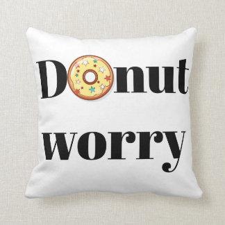 donut worry cushion