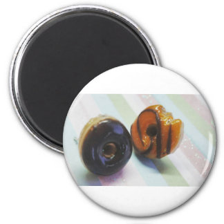 Donuts 2 Inch Round Magnet