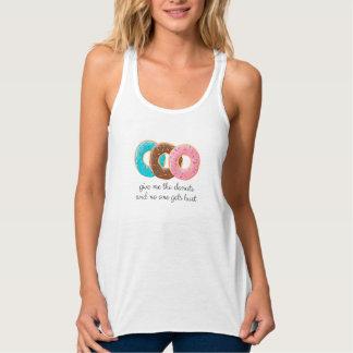 Donuts addict tank top