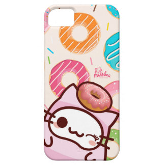 donuts bae bae cats iPhone 5 cases