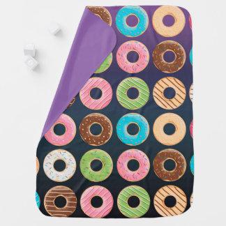 Donuts blanket stroller blanket