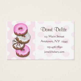 Donuts Business Card