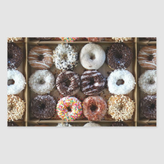 Donuts by the Dozen Photo Sticker