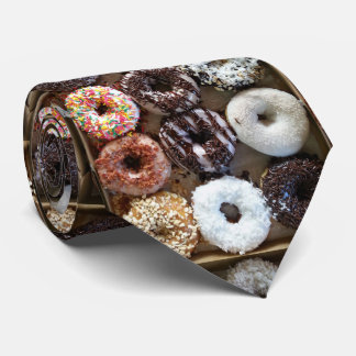 Donuts by the Dozen Tie