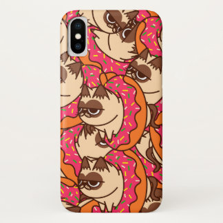 Donuts Cats pink Case-Mate iPhone Case