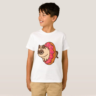 Donuts Cats pink T-Shirt