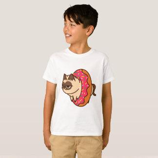 Donuts Cats pink T-Shirt