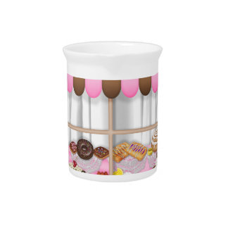 DONUTS, CUPCAKES DESSERT PITCHER
