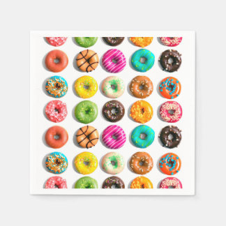 Donuts Disposable Napkin