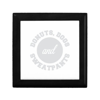 Donuts Dogs Sweatpants Gift Box
