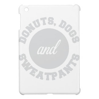 Donuts Dogs Sweatpants iPad Mini Cases