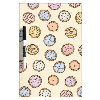 Donuts Donut Food Love Dry Erase Board