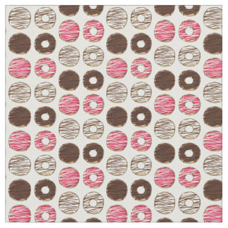 Donuts Fabric