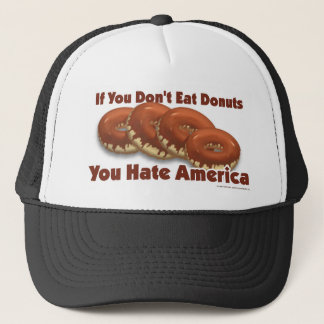 Donuts For America Trucker Hat