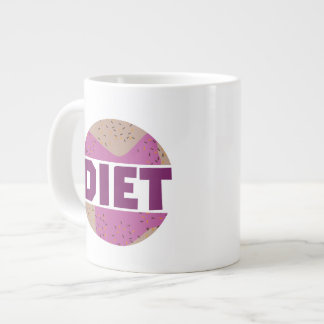 Donuts for diet Z16p9 Giant Coffee Mug