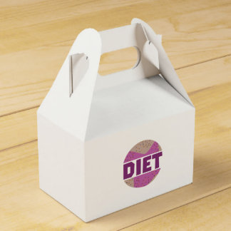 Donuts for diet Z16p9 Wedding Favor Box