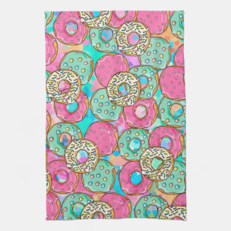 Donuts Galore Kitchen Towel