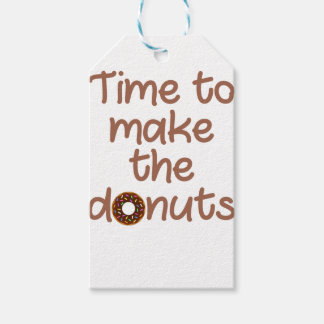 donuts gift tags