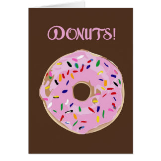 DONUTS! Greeting Card