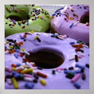Donuts Huge Format Poster