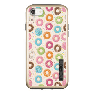 Donuts iPhone 7 DualPro Shine, Gold Incipio DualPro Shine iPhone 8/7 Case