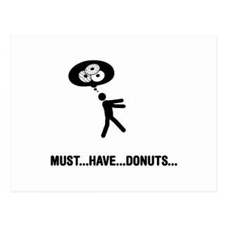 Donuts Lover Postcard