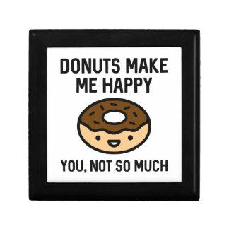 Donuts Make Me Happy Gift Box