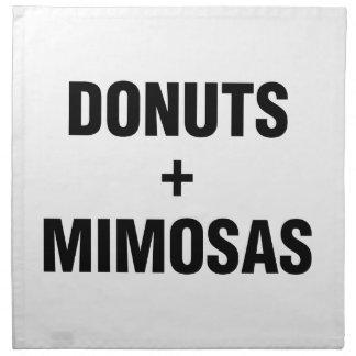 Donuts & Mimosas Napkin
