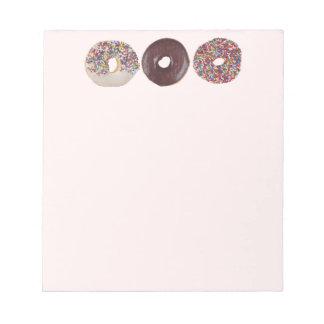 Donuts Notepad