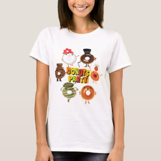 Donuts Party T-Shirt