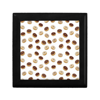Donuts pattern gift box
