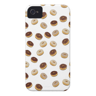 Donuts pattern iPhone 4 Case-Mate cases