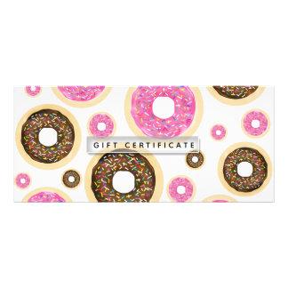 Donuts Pink & Brown Sprinkles Gift Certificate