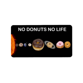 Donuts solar system