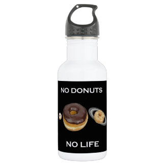 Donuts solar system 532 ml water bottle