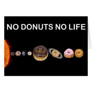 Donuts solar system card