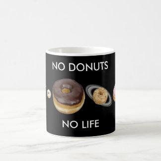 Donuts solar system coffee mug
