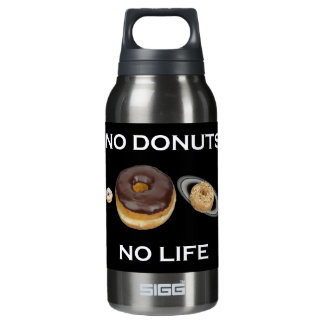 Donuts solar system insulated water bottle