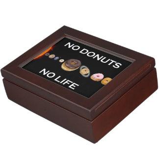 Donuts solar system keepsake box