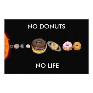 Donuts solar system stationery