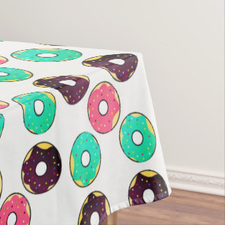 Donuts tablecloth, 132 cm X 178 cm Tablecloth