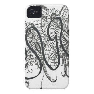 Doodle 007 iPhone 4 cover