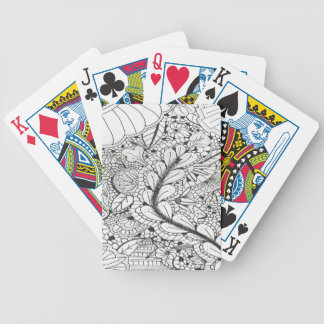 DOODLE 013 BICYCLE PLAYING CARDS